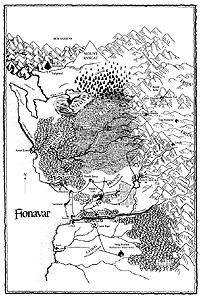 Map of Fionavar