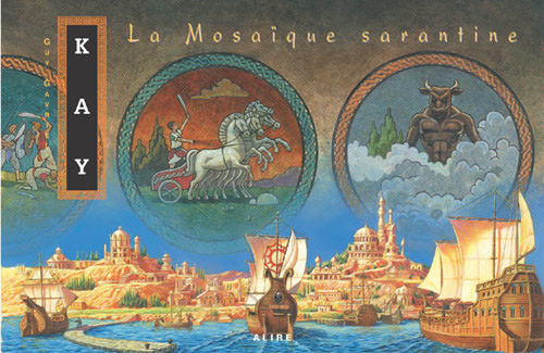Full Painting of The Sarantine Mosaic used in French Canadian editions