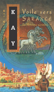 French Canadian edition of Sailing to Sarantium