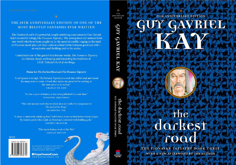 Canadian reissue of The Darkest Road, 20th Anniversary Edition