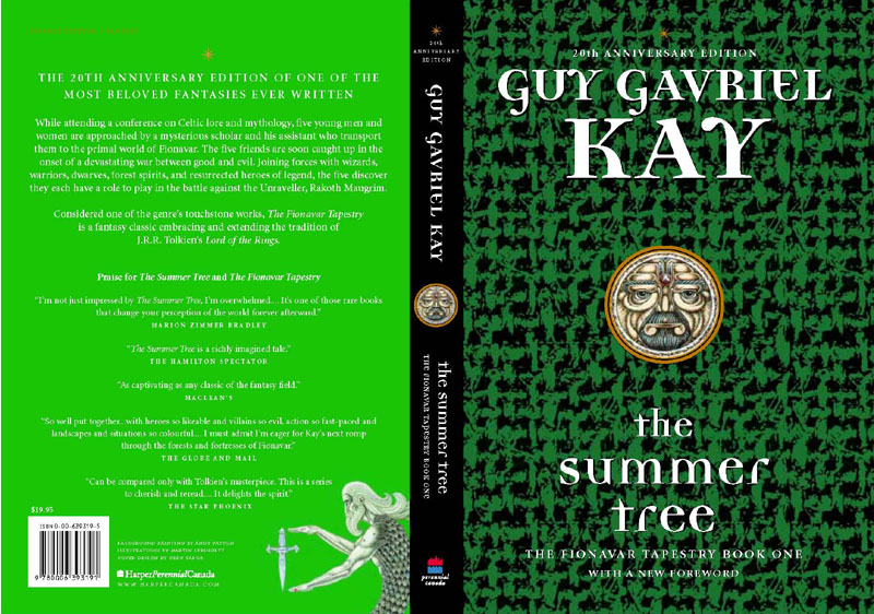Canadian reissue of The Summer Tree, 20th Anniversary Edition