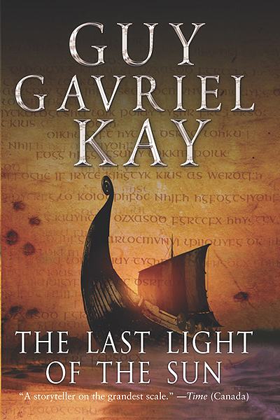 Canadian edition of The Last Light of the Sun