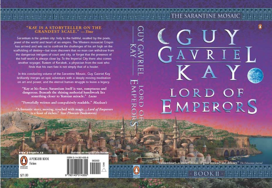 Canadian paperback edition of Lord of Emperors