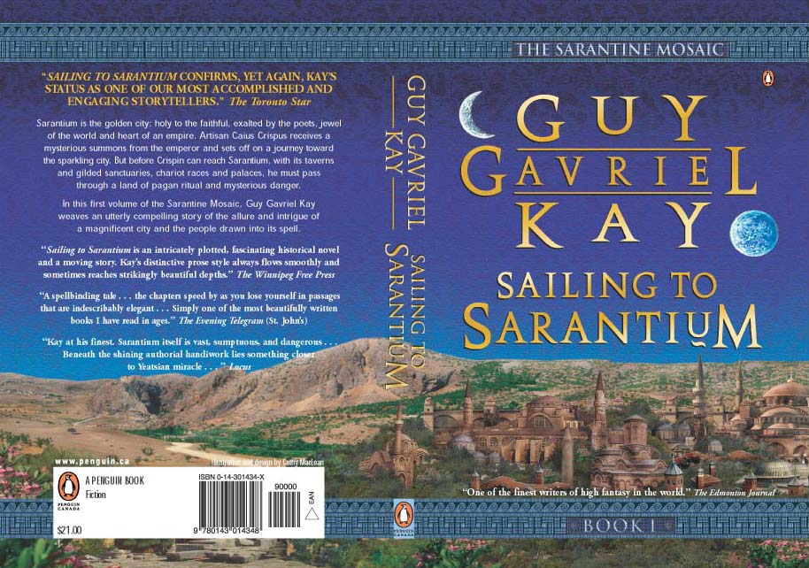 Canadian paperback edition of Sailing to Sarantium