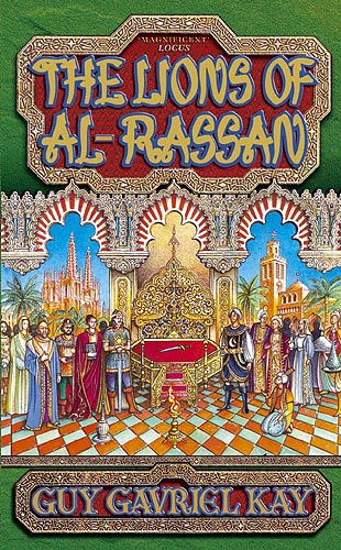 UK pb edition of The Lions of Al-Rassan
