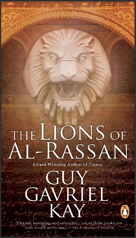 New Canadian edition of Lions of Al-Rassan