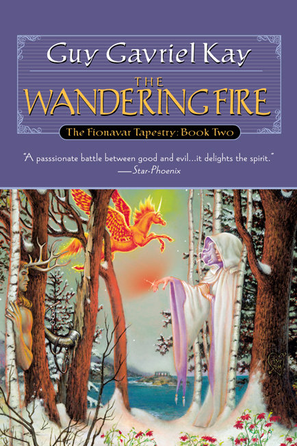 US edition of The Wandering Fire