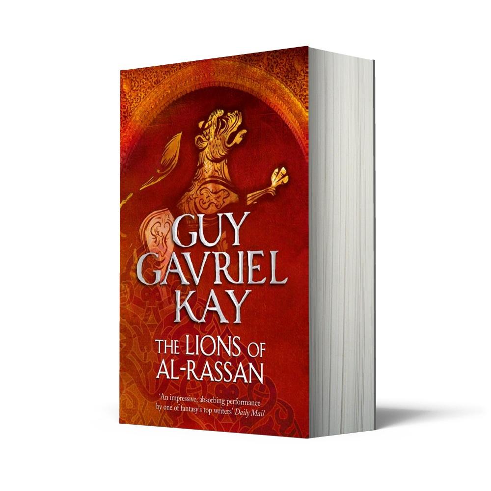 UK edition of Lions of Al-Rassan
