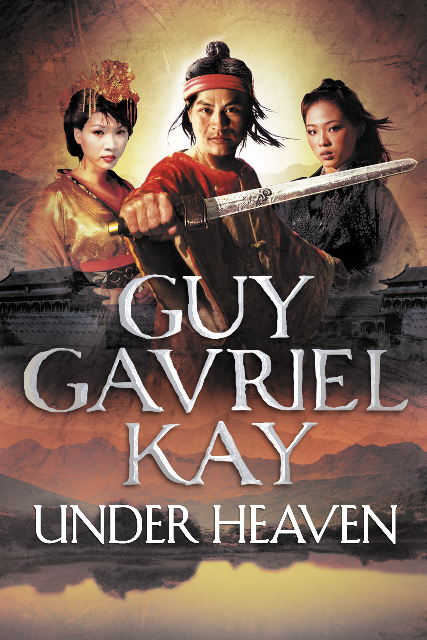UK hardback edition of Under Heaven