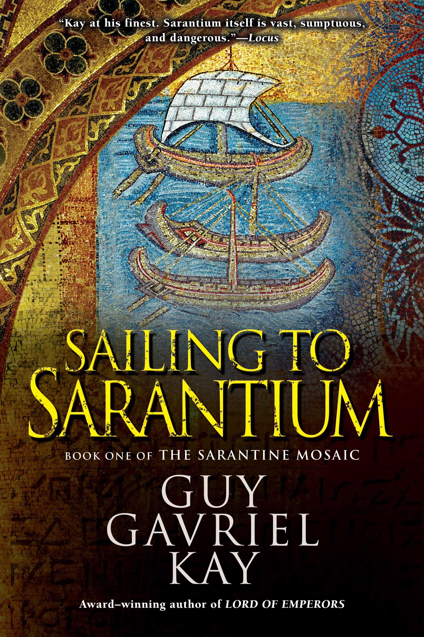 New US edition of Sailing to Sarantium