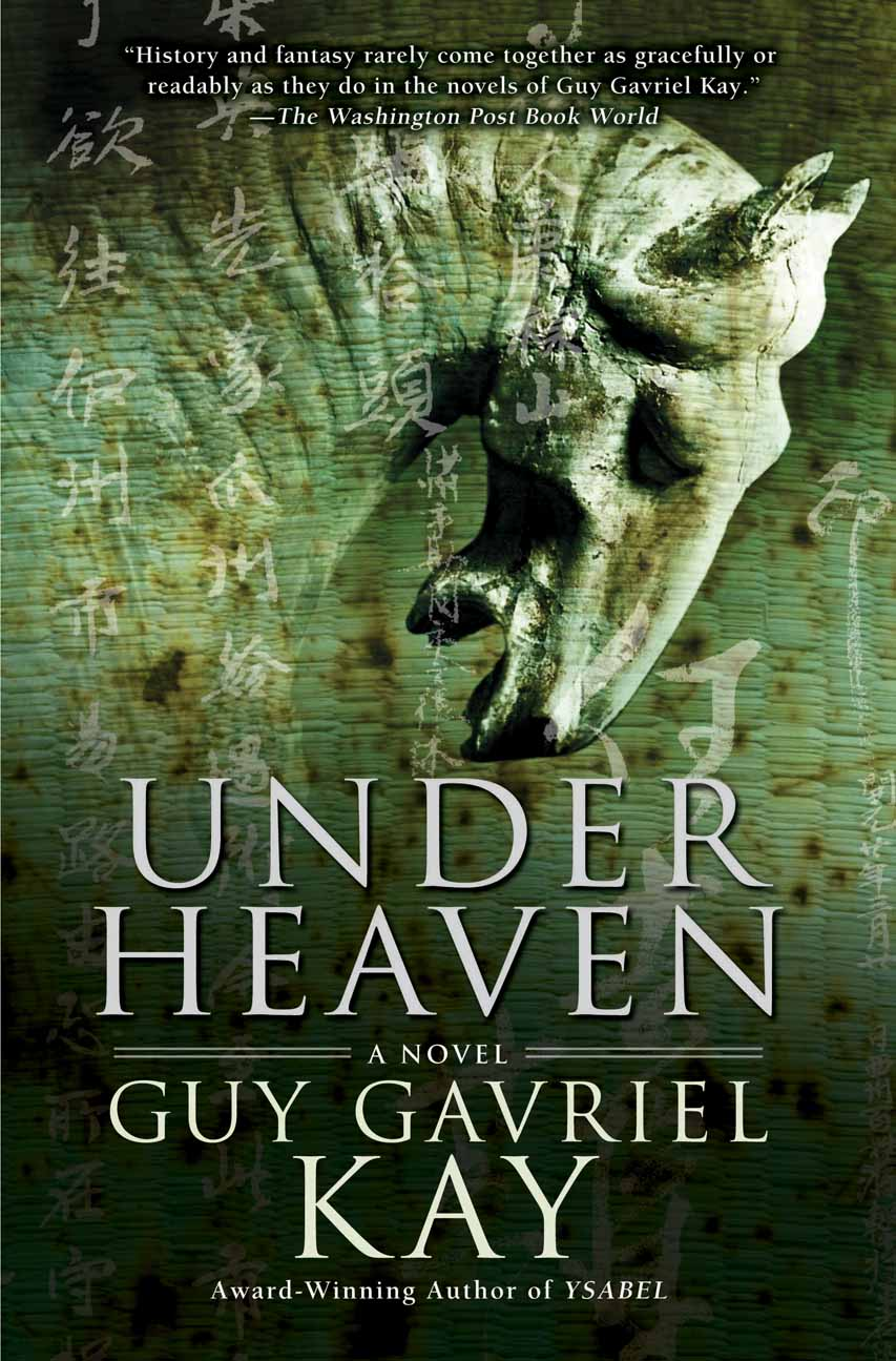 US/Can hardback edition of Under Heaven