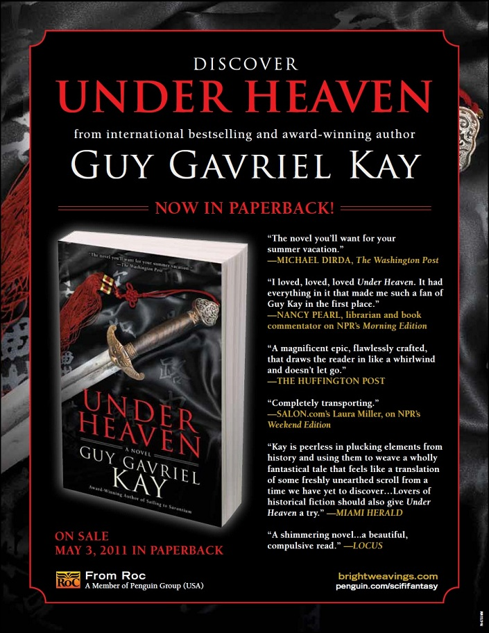 US promotion piece for Under Heaven